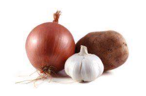 Impianti lavorazione, selezione e calibrazione patate, aglio e cipolla